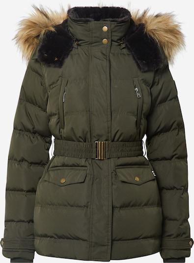 Pepe Jeans Veste d'hiver 'Almah' en vert foncé, Vue avec produit