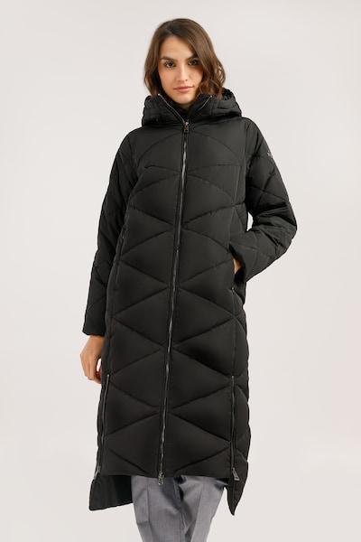 Finn Flare Wintermantel in de kleur Zwart, Modelweergave