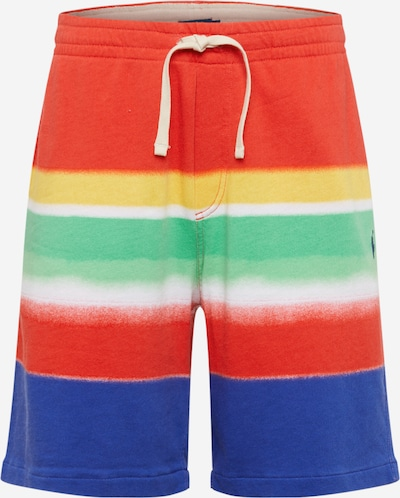 POLO RALPH LAUREN Shorts 'Spa Terry' in mischfarben / rot, Produktansicht