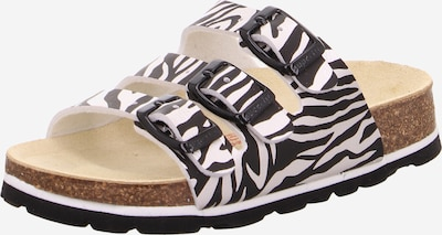SUPERFIT Sandály - černá / bílá, Produkt