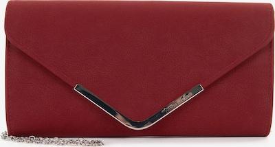 TAMARIS Clutch 'Amalia' in de kleur Rood, Productweergave
