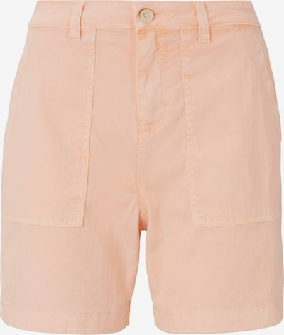 TOM TAILOR DENIM Shorts in apricot, Produktansicht