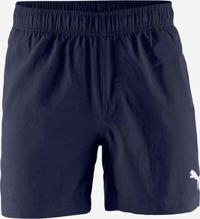 PUMA Shorts in marine / weiß, Produktansicht