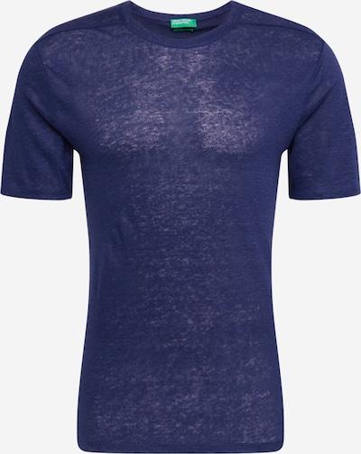 UNITED COLORS OF BENETTON Shirt in dunkelblau: Frontalansicht