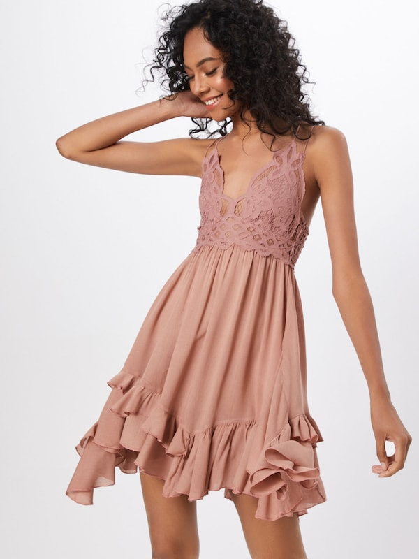 Free People Kleid 'Adella' in rosé, Modelansicht