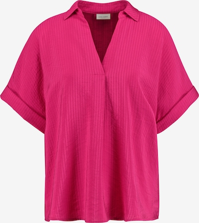 GERRY WEBER Bluse 1/2 Arm 1/2 Arm Bluse mit Struktur in pink, Produktansicht