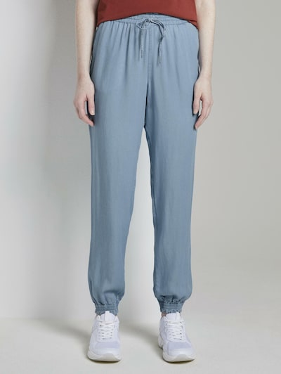 TOM TAILOR DENIM Hose in blau, Modelansicht