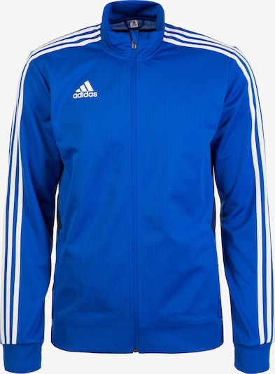 ADIDAS PERFORMANCE Trainingsjacke 'Tiro 19' in blau / weiß, Produktansicht