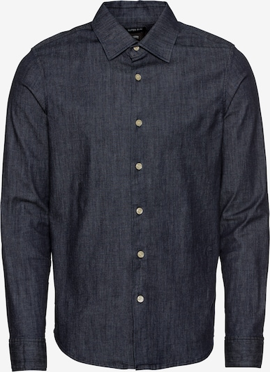 G-Star RAW Hemd 'Core super slim shirt l\s' in blue denim, Produktansicht