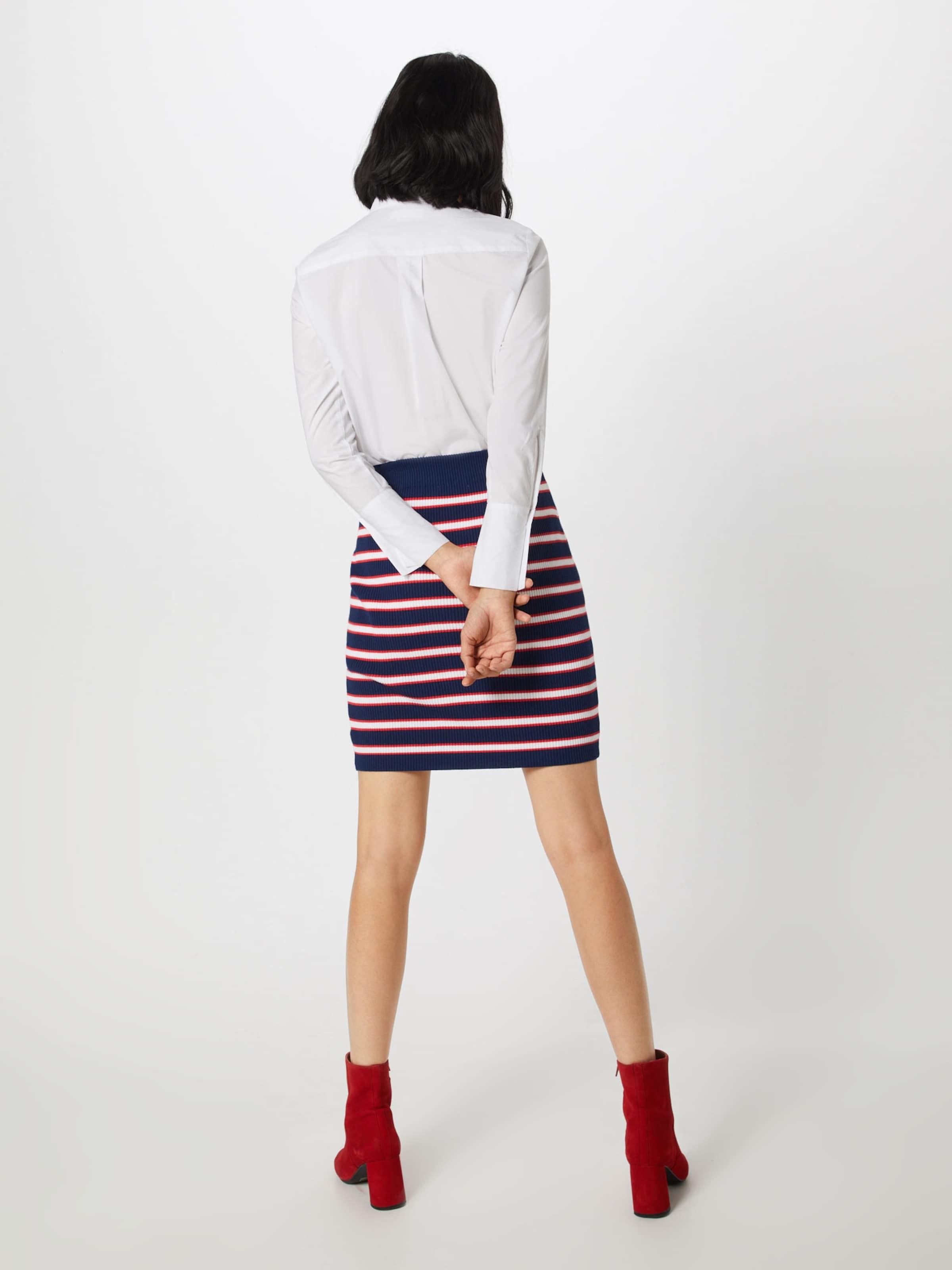 MarineRouge Bleu Guess En Sweater Jupe Blanc Skirt' 'alexandra JKl3uFcT1