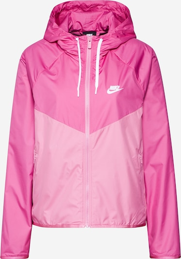Nike Sportswear Kapuzenjacke 'Windrunner' in pink / hellpink, Produktansicht
