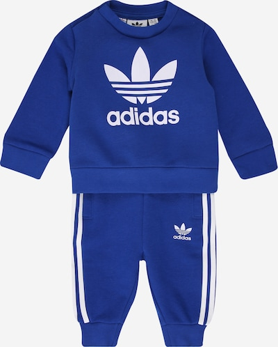 ADIDAS ORIGINALS Trainingsanzug in royalblau / weiß, Produktansicht