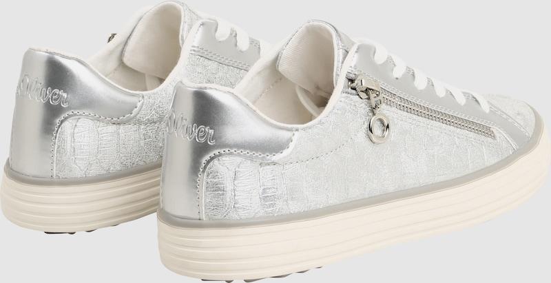 S.Oliver ROT LABEL LABEL LABEL | Sneaker mit seitlichem Zipper d51a58