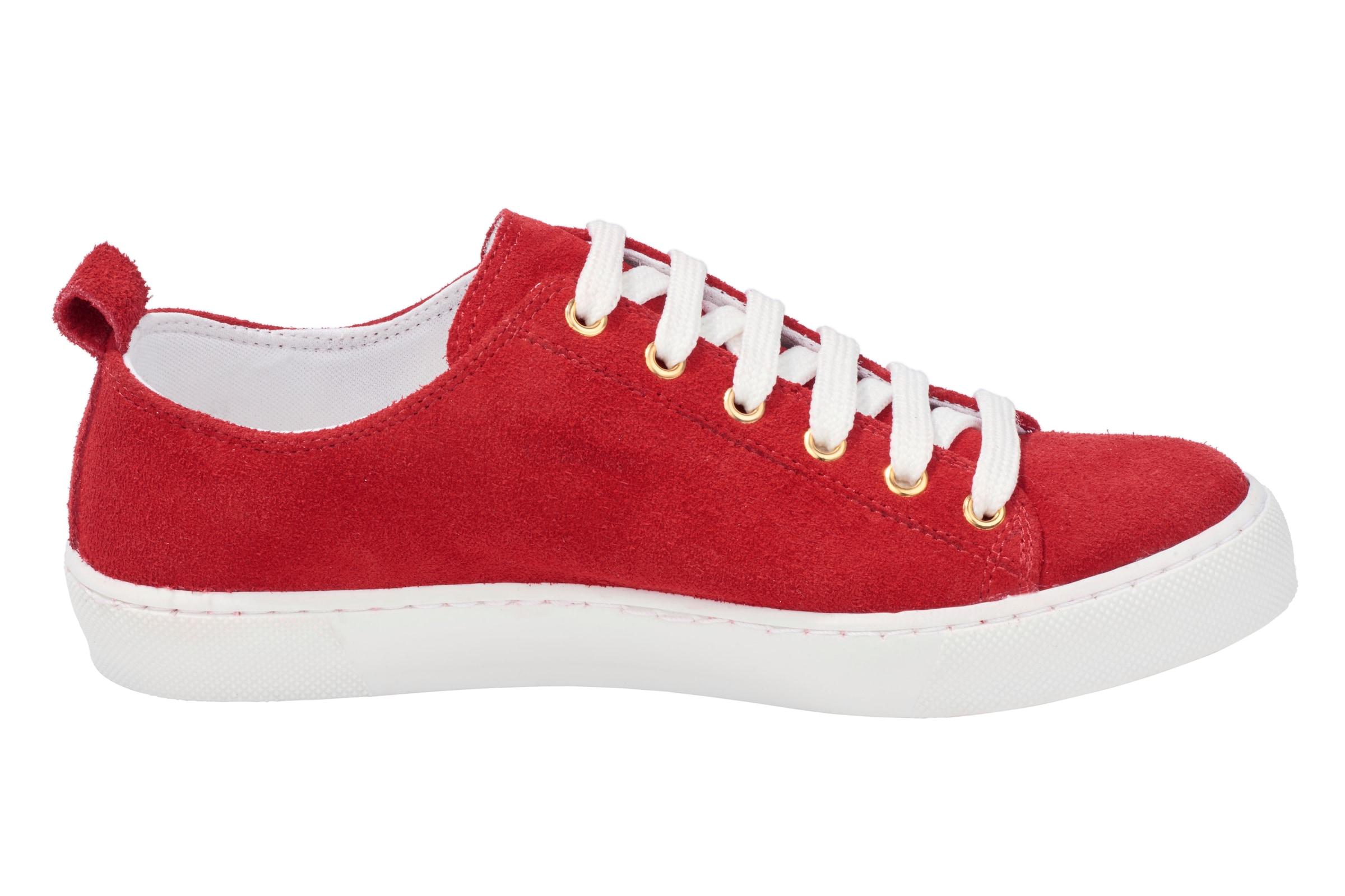 Heine Mit Stern Sneaker In Rot 8PNnOkXw0