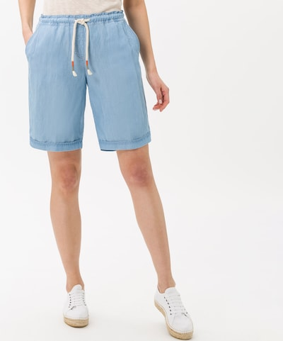 BRAX Shorts 'Mel B' in blau, Modelansicht
