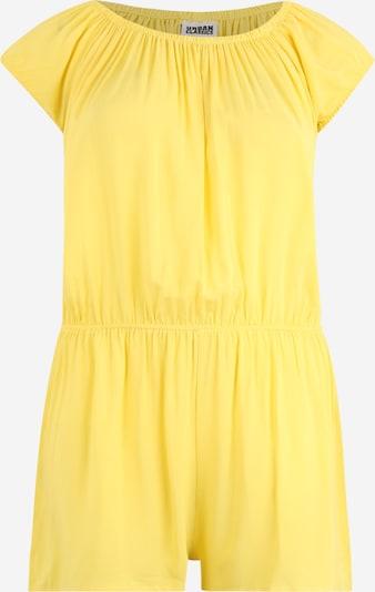 Urban Classics Curvy Jumpsuit in de kleur Geel, Productweergave