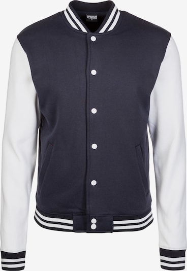 Urban Classics Prechodná bunda - tmavomodrá / biela, Produkt