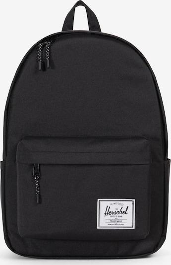 Herschel Rucksack in schwarz, Produktansicht
