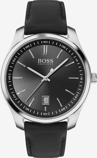 BOSS Casual Uhr 'Circuit' in schwarz / silber, Produktansicht