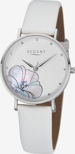 REGENT Uhr 'BA-665 3227.78.10' in silber / weiß, Produktansicht