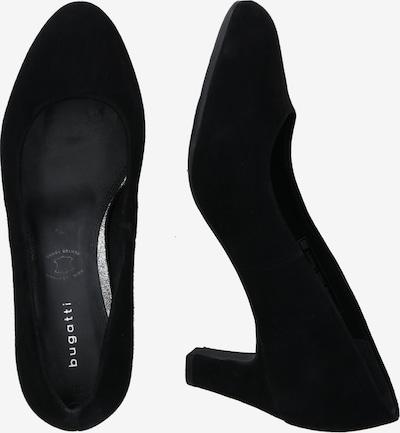 bugatti Escarpins 'Jade' en noir: Vue de profil