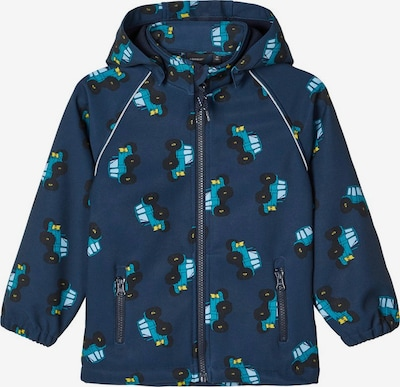 NAME IT Softshelljacke  'Alfa' in blau, Produktansicht