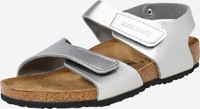 BIRKENSTOCK Chaussures ouvertes 'Palu' en argent, Vue avec produit
