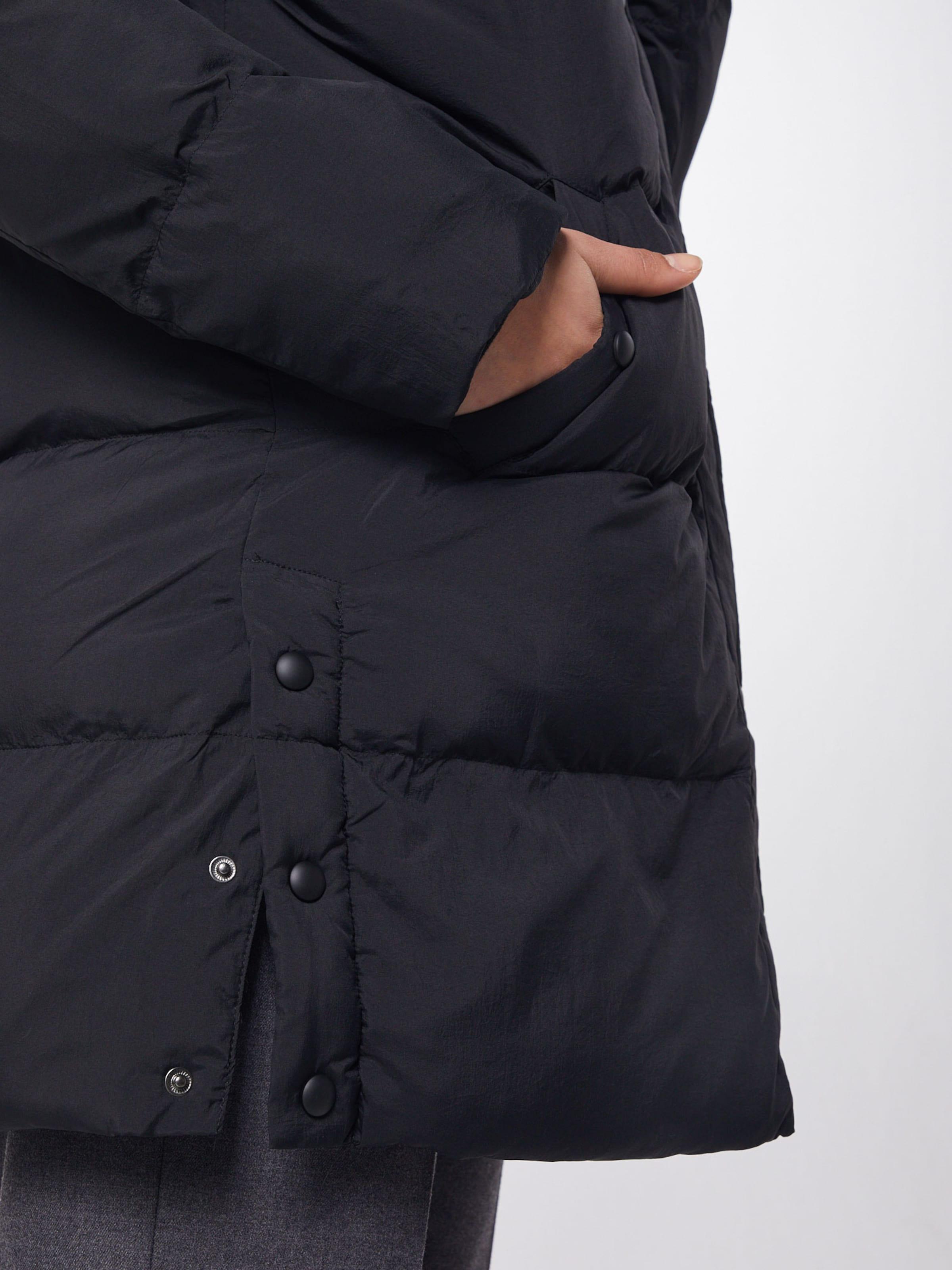 OPUS Mantel 'Harine' in schwarz