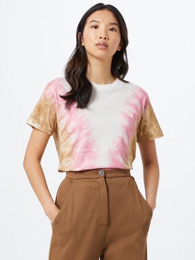 Ragdoll LA Tričko 'Tie Dye Vintage' - pink / bílá, Model/ka