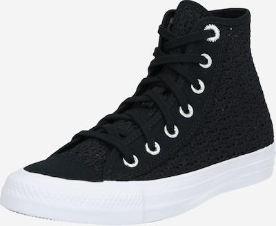 CONVERSE Sneaker 'CHUCK TAYLOR ALL STAR' in schwarz / weiß: Frontalansicht
