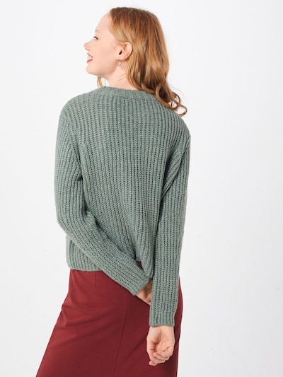 ONLY Pulover | večbarvno zelena barva: Pogled od zadnje strani