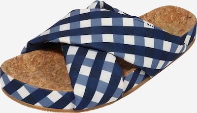 SCOTCH & SODA Pantolette 'Yolin' in blau / dunkelblau / weiß, Produktansicht