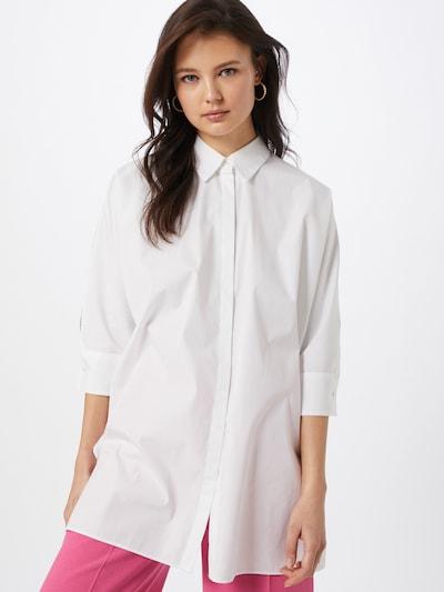 BOSS Bluse in weiß, Modelansicht