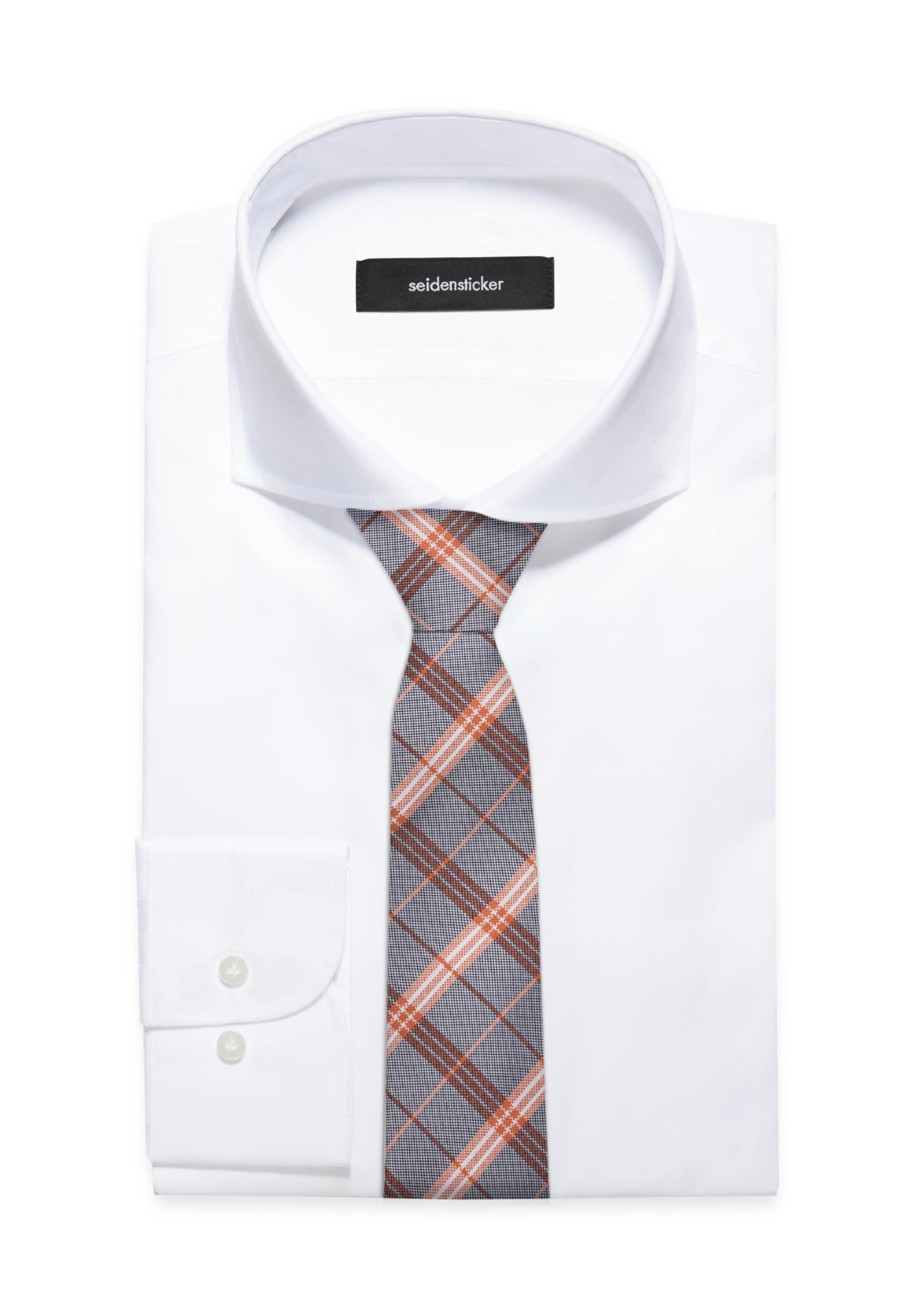 Spielraum Beruf SEIDENSTICKER Krawatte 'Schwarze Rose' Spielraum Niedrigen Preis Versandgebühr Orange 100% Original co8Lu