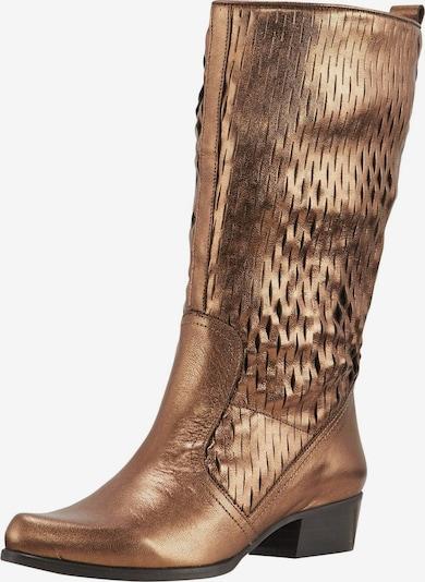 heine Stiefel in bronze, Produktansicht