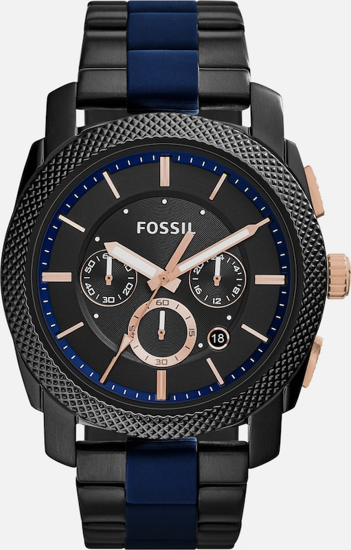 Fossil Chronograph, »machine, Fs5164«