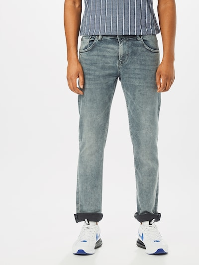 TOM TAILOR DENIM Jeans 'slim PI' in grey denim, Modelansicht