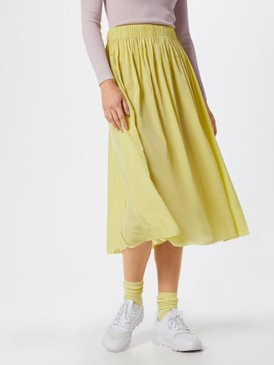 Samsoe Samsoe Rock 'Nadia skirt 10222' in gelb, Modelansicht
