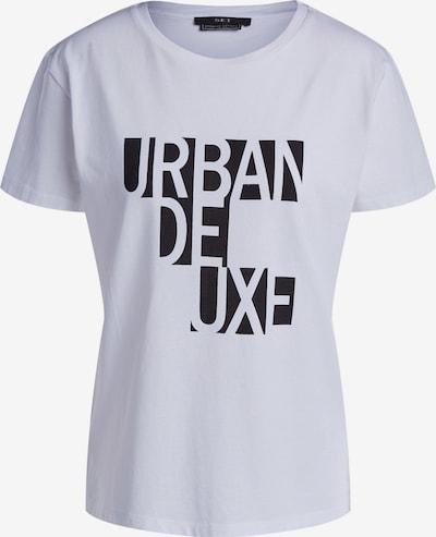 SET T-Shirt in schwarz / weiß, Produktansicht