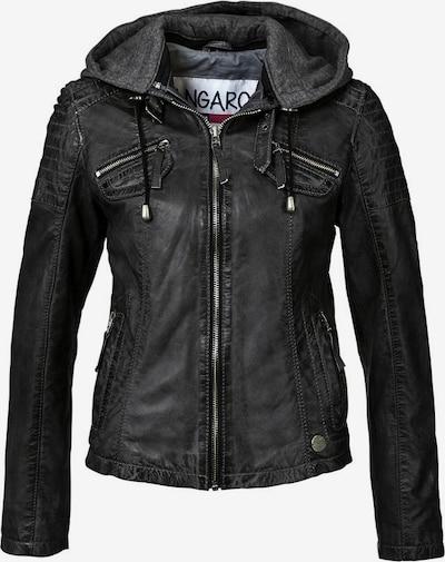 KangaROOS Lederjacke in schwarz, Produktansicht