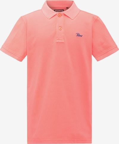 Petrol Industries Poloshirt in koralle, Produktansicht
