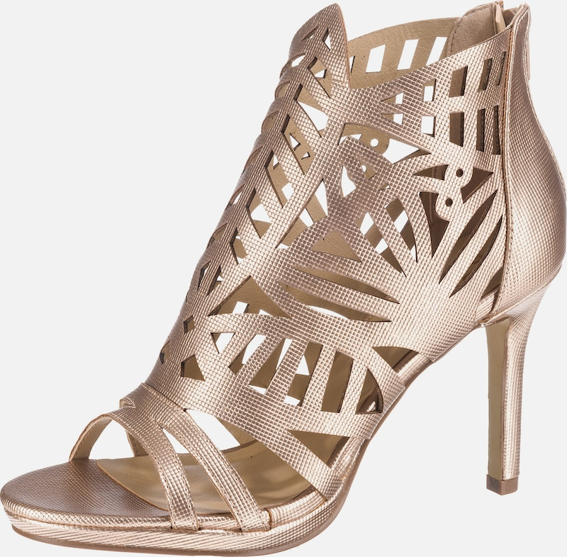 bullboxer high heels mit cut outs in gold about you. Black Bedroom Furniture Sets. Home Design Ideas