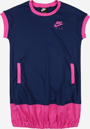 Nike Sportswear Kleid in blau / fuchsia: Frontalansicht