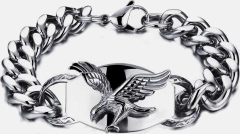 FIRETTI Edelstahlarmband »Adler«