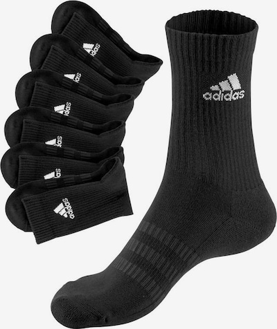 ADIDAS PERFORMANCE Sportsocken in schwarz / weiß, Produktansicht