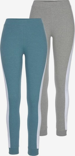 ARIZONA Leggings in grau / petrol, Produktansicht