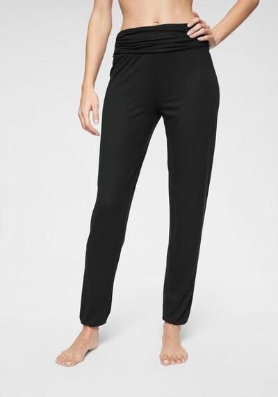 BUFFALO Pidžama hlače u crna: Prednji pogled