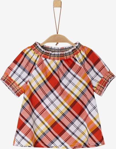 s.Oliver Junior Bluse in mischfarben / orangerot, Produktansicht