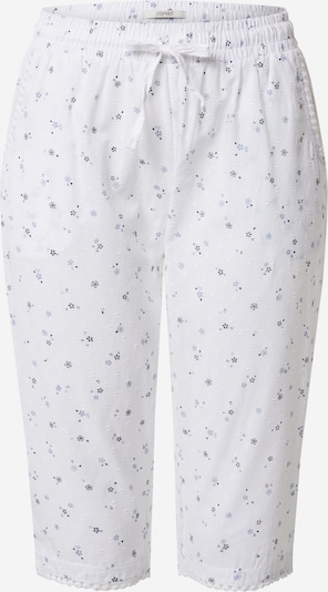 ESPRIT Pantalon de pyjama en bleu / blanc, Vue avec produit