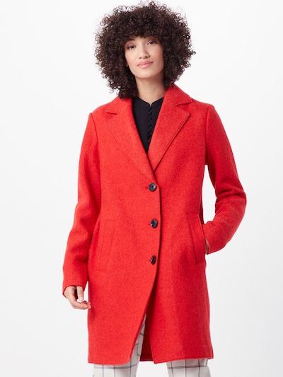 COMMA Mantel in orangerot, Modelansicht